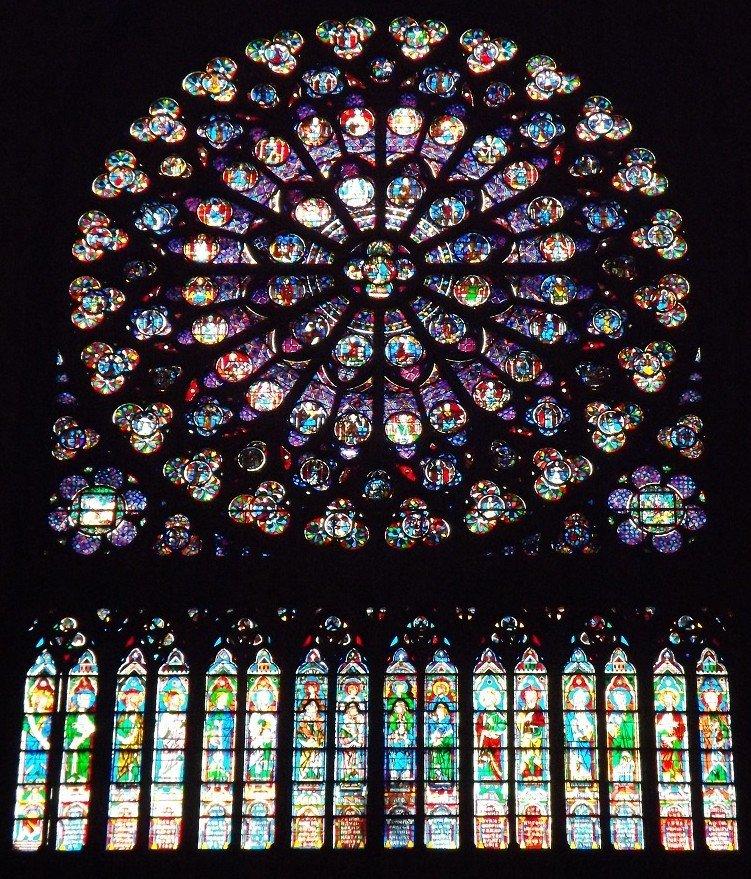 Transept sud ND Paris vue générale