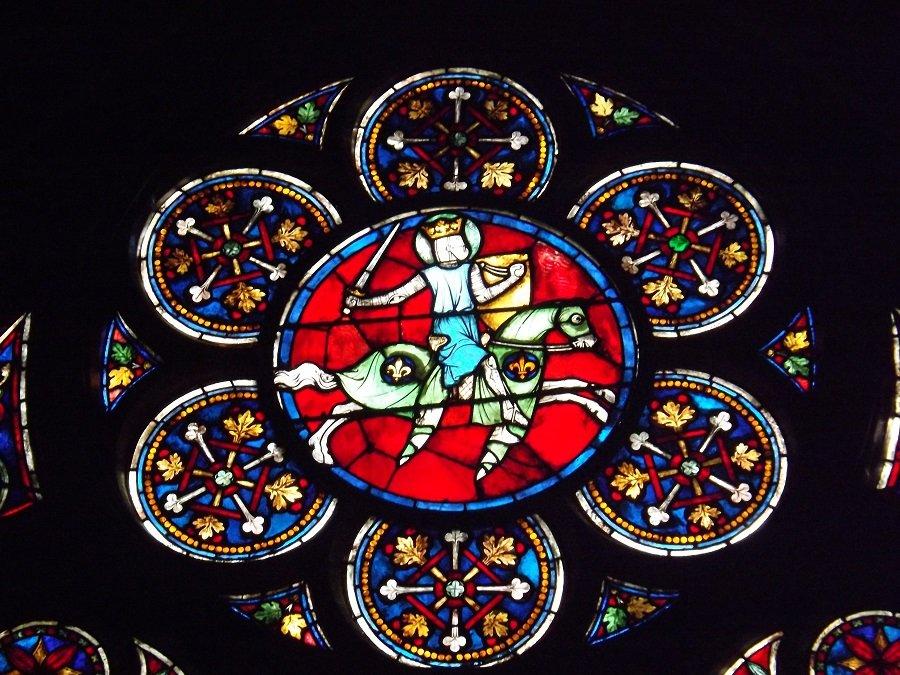 vitrail chapelle ND Paris