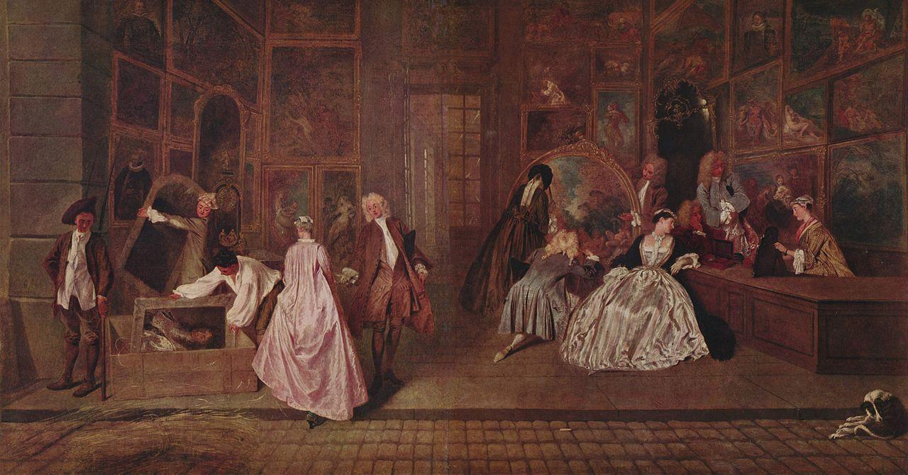 Watteau enseigne Gersaint