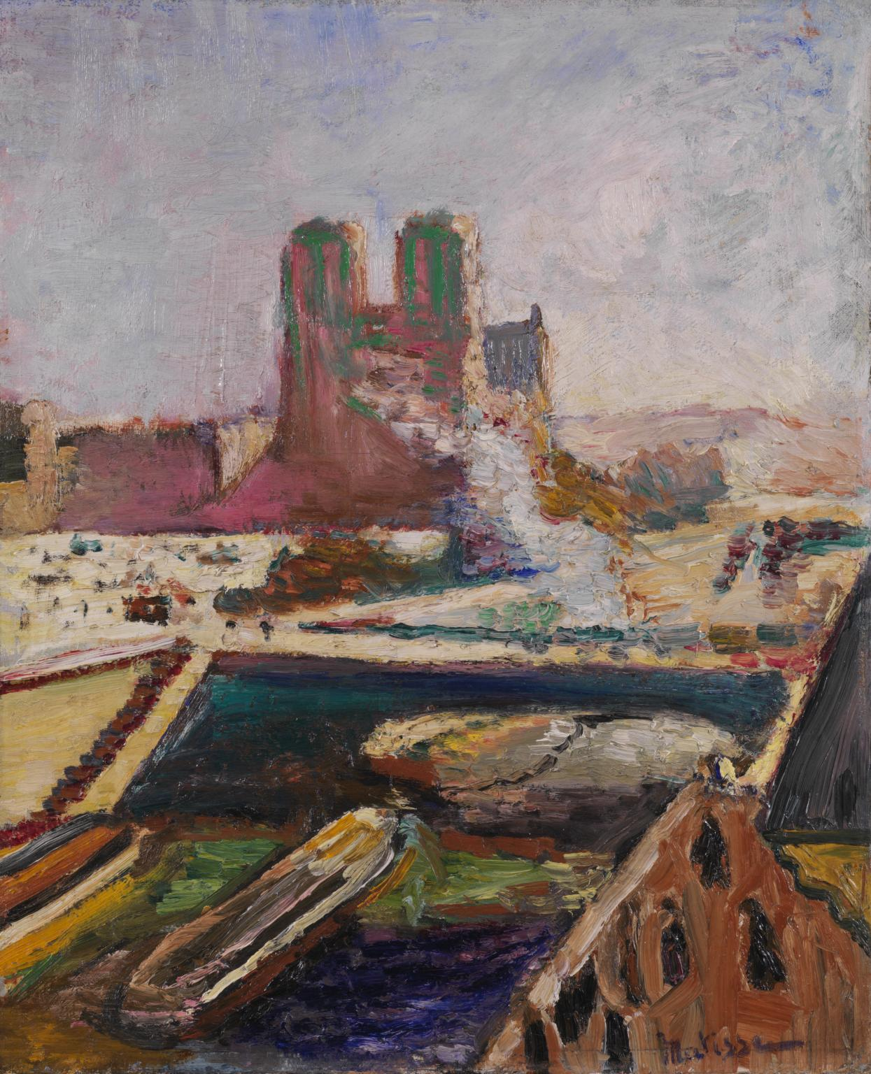 Notre-Dame c.1900 by Henri Matisse 1869-1954