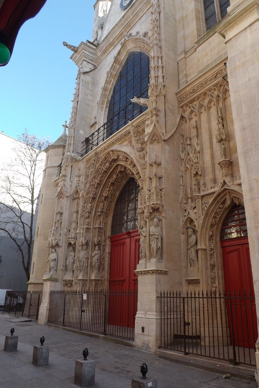 façade église saint-merri