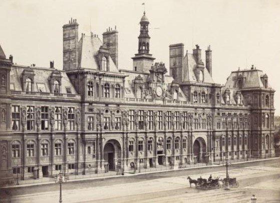 hotel de ville vers 1865