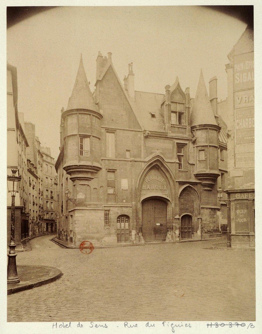 Atget hotel de sens 1899