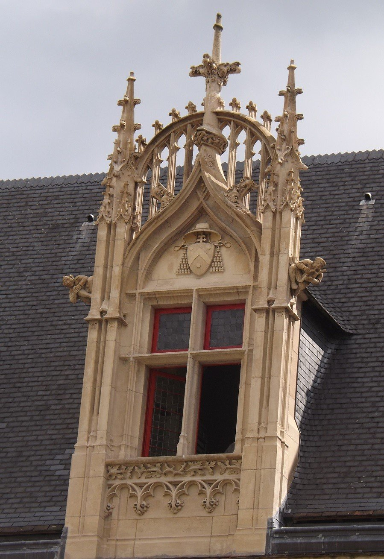 fenêtre hotel archevêque sens coté jardin