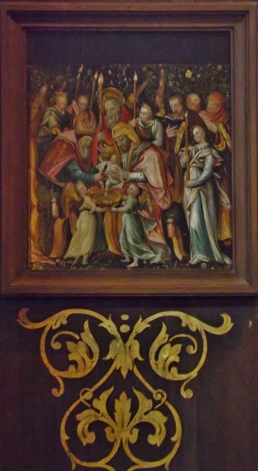 église st louis en l'île peintures rhénanes