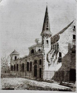 extérieur de l'église st louis
