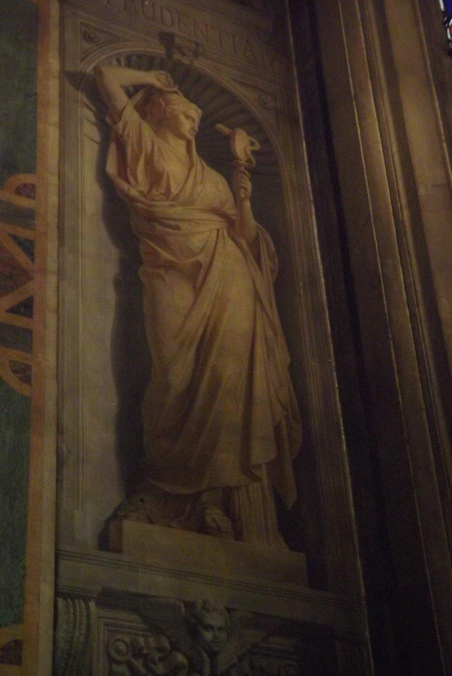 grisaille st louis en l'île chapelle I de france