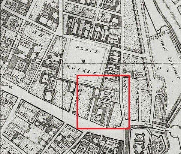 plan delagrive 1728