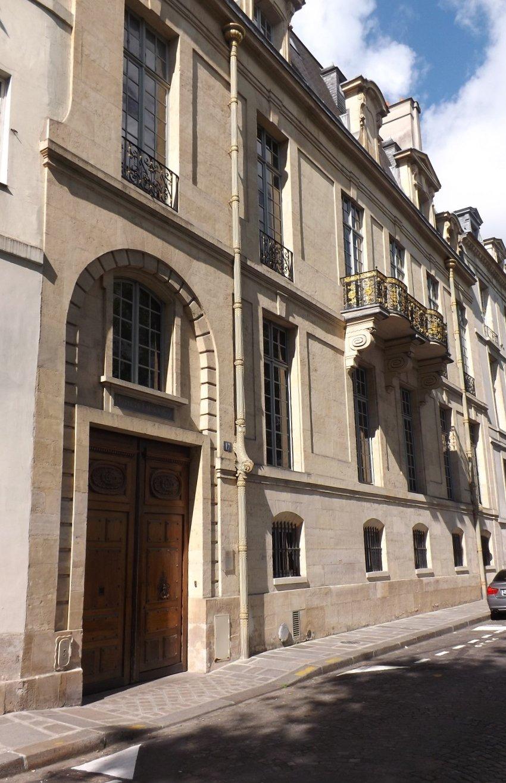 façade redressée