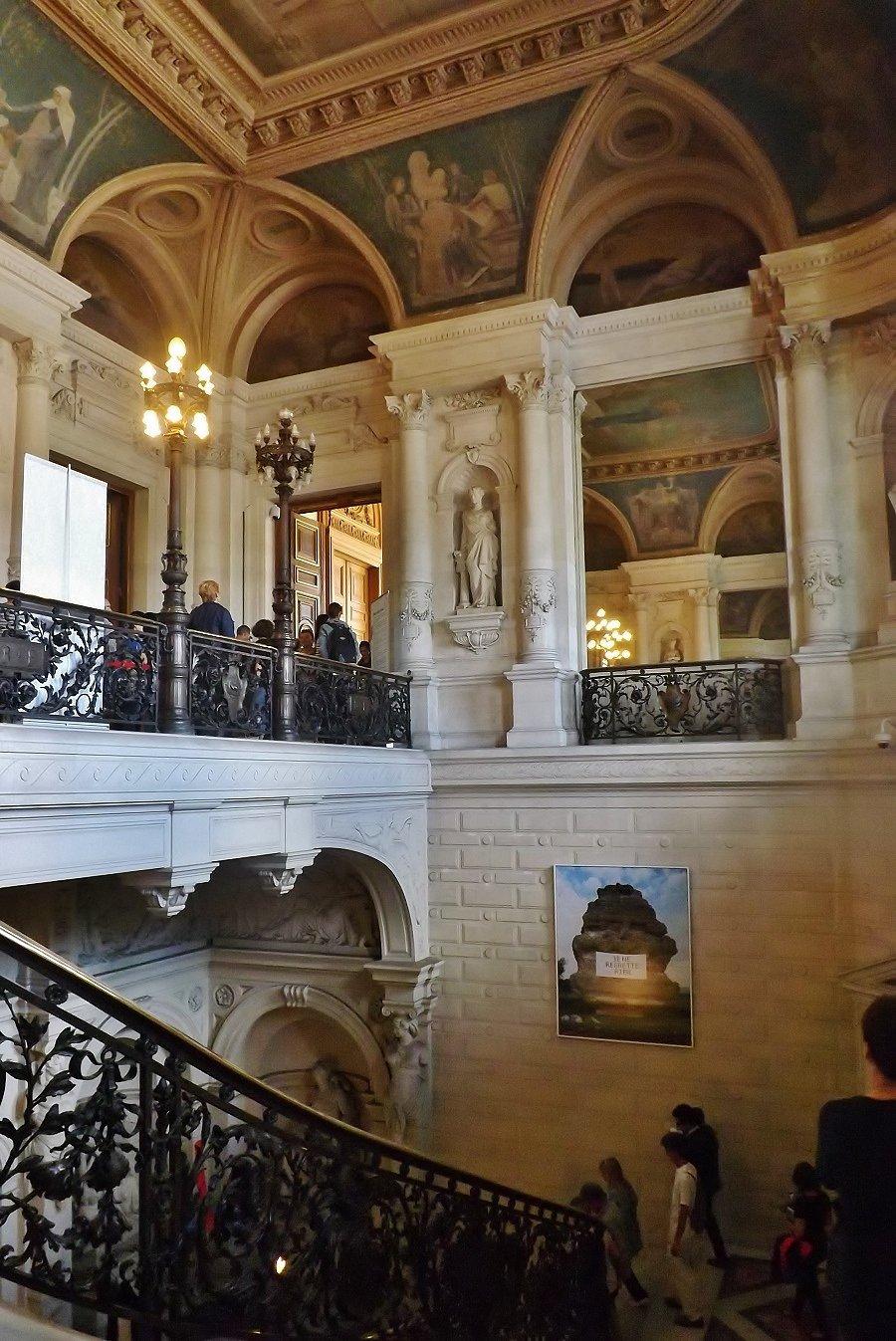 escalier de la maire