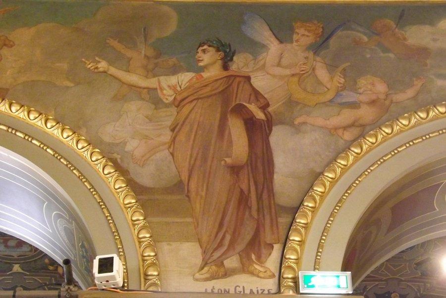 peinture des arcades 3