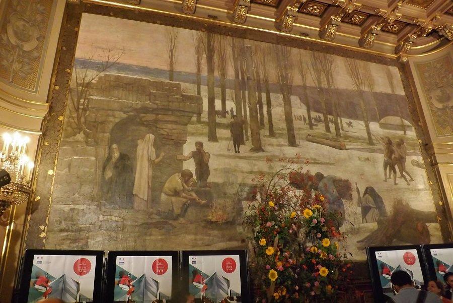 peinture salle puvis